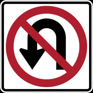 Close u-turn on E11